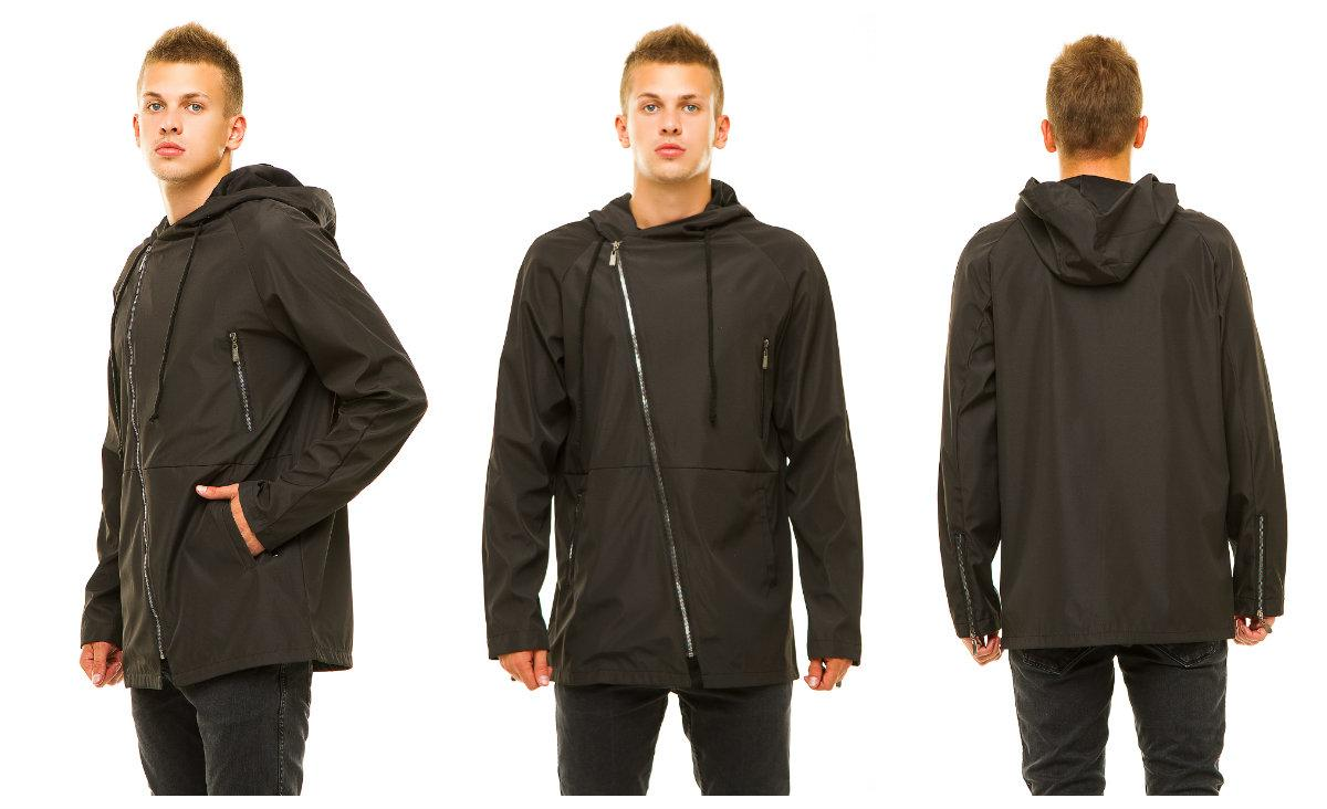Мужская куртка 347 черная
