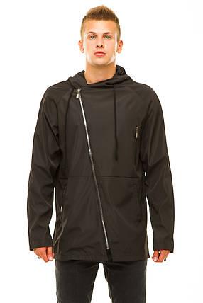 Мужская куртка 347 черная размер 46, фото 2