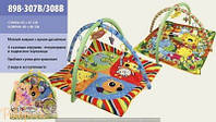 Развивающий развивающий коврик для младенца 898-307