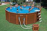 Каркасный бассейн Intex-интекс  54462, 508 х 124 см + насос-фильтр, лестница, тент,, фото 2