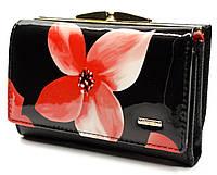 Компактный женский кошелек с внешней монетницей в цветочном принтом Helen Verde (Хелен Верде) 51103L