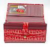 Оригинал! Фактурный лаковый женский кошелек в красном цвете Helen Verde (Хелен Верде) 2487R, фото 3