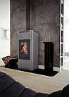 Отопительная печь-камин длительного горения AQUAFLAM 7 (водяной контур, полуавтомат, серый), фото 8