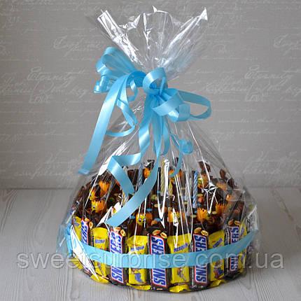 """Торт из сладостей на День рождения """"Snickers"""", фото 2"""
