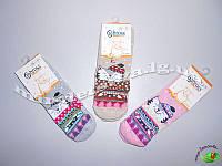 Махровые носочки детские с тормозами TM BROSS р.7-9 (31-33 см)