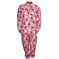 Пижама на 2-х пугов (кулир)