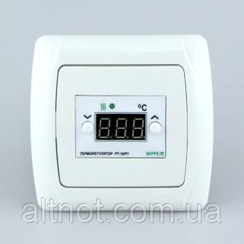 Регулятор температуры РТУ-16 16А в корпусе для скрытой проводки.