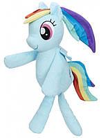 Мягкая игрушка Huggable Plush Rainbow, Плюшевые пони для объятий, My Little Pony
