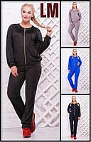 52,54,56,58,60,62 р Женский спортивный костюм Музий синий черный серый батал большого размера толстовка штаны