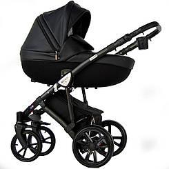 Универсальная коляска Retrus. 2 в1 MILANO 9 - черная