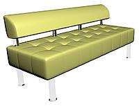 Офисный диван без подлокотников  1600*600