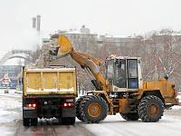 Аренда машини механизмов для вывоза снега