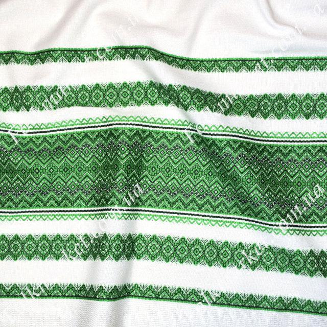 Ткань на рушник с украинской вышивкой Аншлаг ТДК-109 3/4