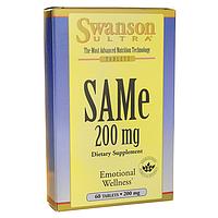 Здоровье печени - Гептрал (САМе / SAMe)(S-аденозил L-метионин), 200 мг 60 таблеток, Швейцария