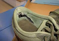 Ремонт карманов в кроссовках
