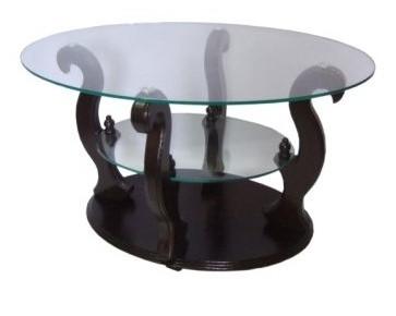 Журнальный столик ДС-2 Шарм (тонированное стекло)