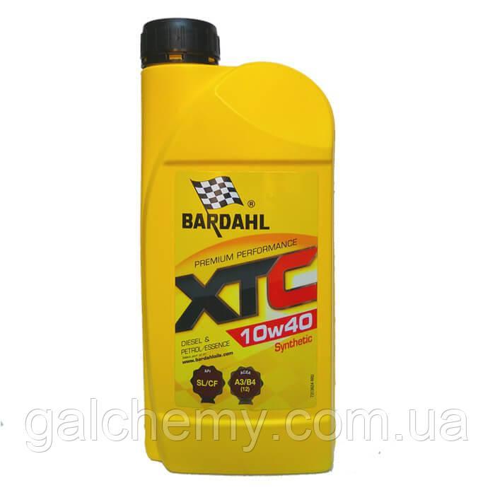 Моторне масло Bardahl XTC 10W40 1 л (36241)