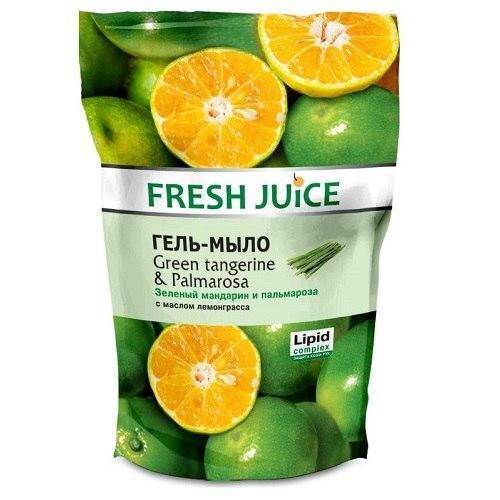 """Fresh Juice Рідке крем-мило 460 МЛ. Green Tangerine - Palmarosa"