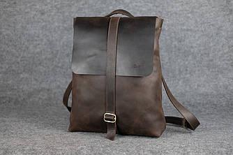 Женский рюкзак-трансформер |11982| Винтаж | Шоколад