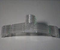 Плечики вешалки пластмассовые для нижнего белья Marc-Th WBO-7PS прозрачные, 32 см