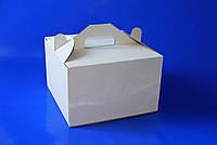 Картонная упаковка для торта 25х25х16