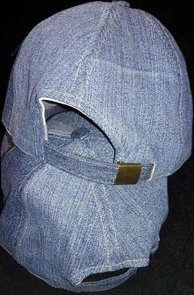 Кепка джинсовая, фото 2