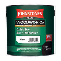 Лессирующий антисептик Johnstones Quick Dry Satin Woodstain