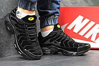 Кроссовки мужские Nike Air Max 95 TN. Замша 100%. Черные. Размер 41 42 43 44 45 46