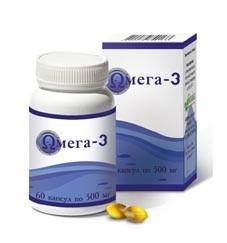 Омега-3 с витаминами А и Д3 (60 капс.)