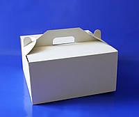 Картонная упаковка для торта 32х32х16