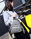 Рюкзак Bao Bao голограмма в серебрянный., фото 4