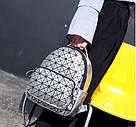 Рюкзак Bao Bao голограмма в серебрянный., фото 3