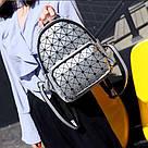 Рюкзак Bao Bao голограмма в серебрянный., фото 2