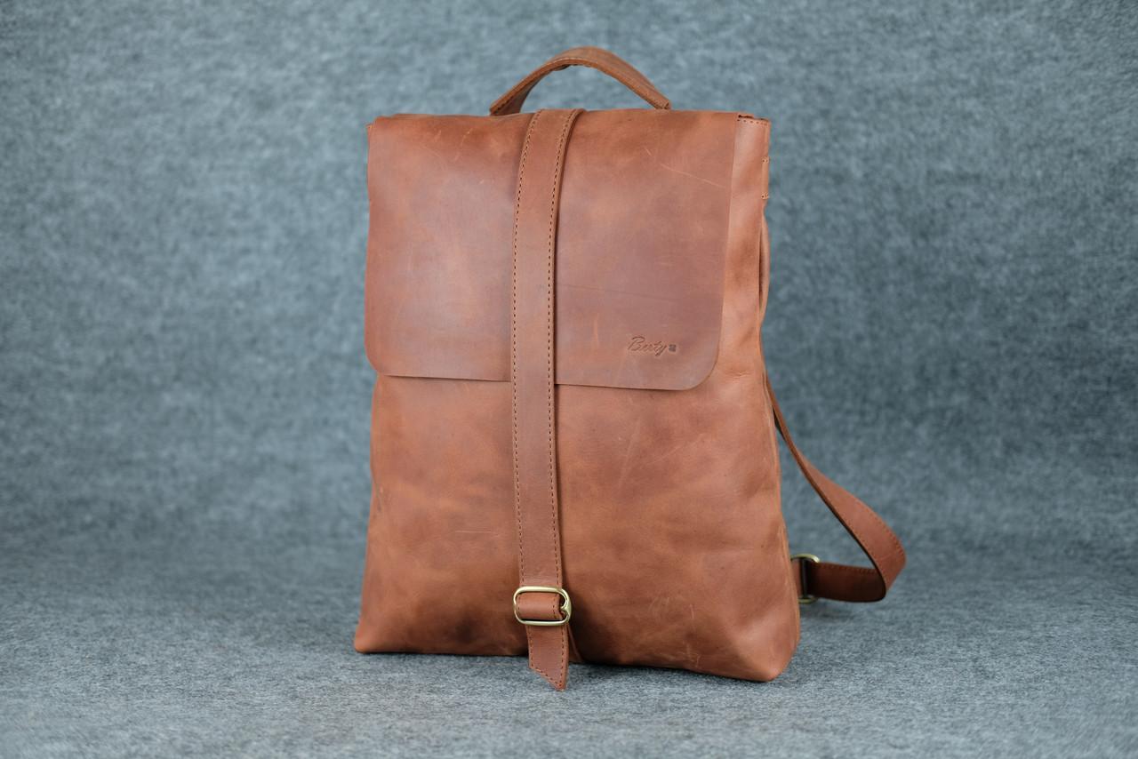 Рюкзак-трансформер цвет коньячный рюкзаки мсм интернет магазин