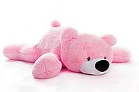 Большая мягкая игрушка медведь Умка 125 см розовый, фото 1