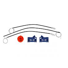 Ремкомплект стеклоподъемник RENAULT LAGUNA 2 передняя левая  дв.