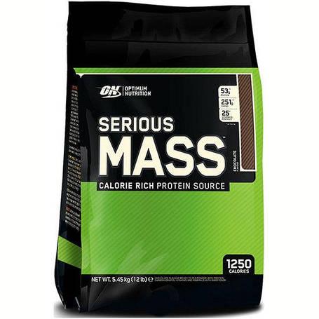 Гейнер Serious Mass Optimum Nutrition 5.44 кг, фото 2