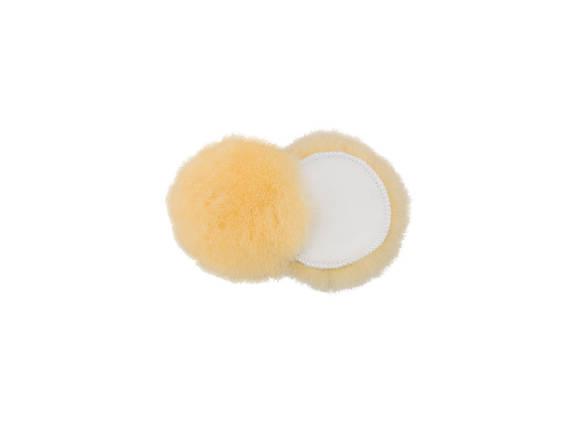 """Полировальный круг шерстяной - Flexipads Gold Pro 80 мм. (3"""") желтый (GL080), фото 2"""
