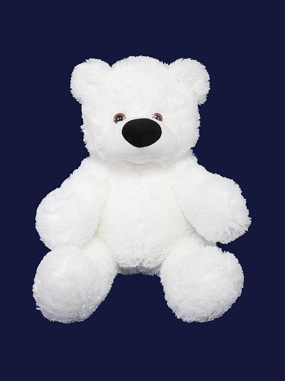 Мягкая игрушка мишка Алина Бублик 65 см белый