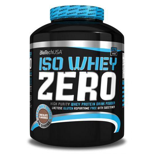 Протеин без лактозы BioTech USA ISO WHEY ZERO 2,27кг