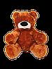 Плюшевый Медведь Алина Бублик 110 см коричневый