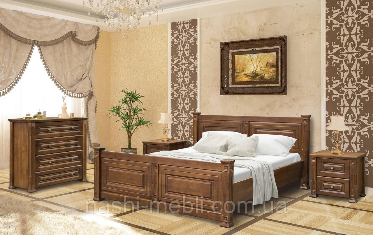 Двоспальне ліжко Міленіум МС