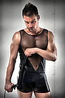 Мужское эротическое белье и одежда 016 SET black L/XL - Passion