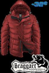 Куртка Braggart Aggressive зимняя, капюшон съемный на молнии