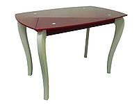 Стол обеденный на деревянных опорах ДКС-Классик-2
