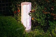 Светящийся тротуарный камень Колонна