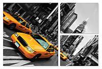 Модульная картина такси