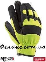 Перчатки из синтетической кожи с материалом SPANDEX RMC-MECHANIK - XL
