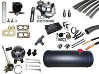 Комплект ГБО 4 поколения AC S A DIGITRONIC Novogas+м/к Tomasetto+венткороб (c баллоном 50л)