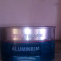 Шпатлевка с алюминием весом 1,8 кг